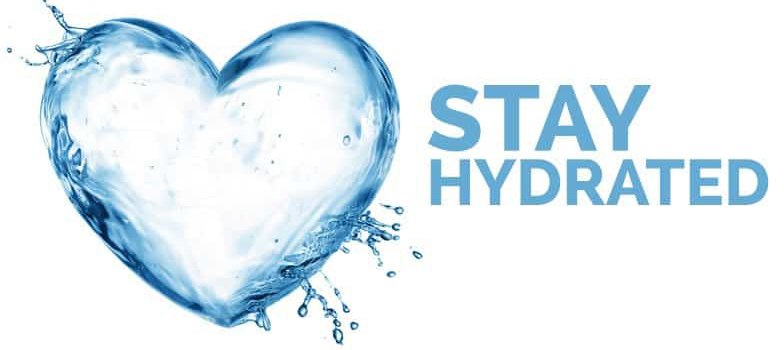 Top Five Reasons to Stay hydrated